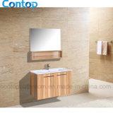 Шкаф тазика запитка мебели ванной комнаты с зеркалом