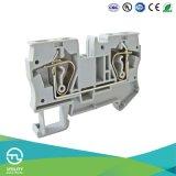 L'onduleur monté sur rail plastique borniers rail DIN