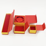 卸し売り贅沢なLeatheretteのペーパー板紙箱(J08-E2)