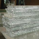 4 ' x8 de Vuurvaste PE/PVDF Met een laag bedekte Comités van de Honingraat van het Aluminium voor de BuitenBekleding van de Muur