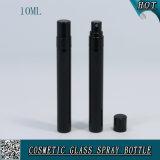 5ml 10ml 15mlは黒いカラー霧のスプレーヤーが付いている香水のためのガラスガラスびんのスプレーのびんをよじ登る