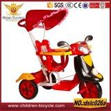 2016 نوعية جيّدة رخيصة طفلة درّاجة ثلاثية مع مقبض قضيب