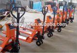 Hydraulischer Handladeplatten-LKW mit wiegen Schuppe