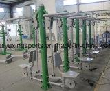 Im Freiengymnastik-Gerät für horizontale Strichleiter