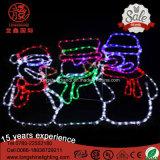 Ragazzi decorativi IP65 del prato inglese del LED 1.5m che ballano l'indicatore luminoso di natale per indicatore luminoso esterno
