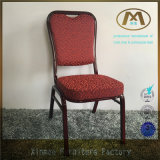 중국제 호텔 가구 빨간 알루미늄 프레임 연회 의자