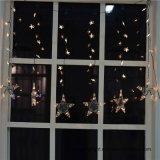 Ce&RoHS genehmigte Licht des Vorhang-1m60LED mit Stern für Ausgangs-/Weihnachts-/Hochzeits-Dekoration