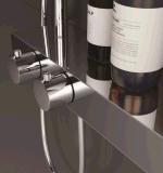 Grifo montado en la pared de la ducha de la temperatura constante de la alta calidad