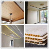 A largura de 8 mm de espessura 400 Banho PVC impermeável de painéis de revestimento de parede do painel da parede de PVC decorativas DC-481