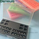 Изготовление Monoblock аттестованное FDA/Ce/ISO Roth/кронштейн Denrum высокого качества Edgewise/Mbt зубоврачебный
