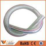 Boyau renforcé de l'eau de fil d'acier de PVC