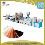 Machines en plastique d'extrudeuse de panneau de feuille de bordure foncée de PVC