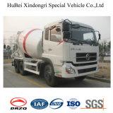 camion di trasporto della betoniera 6X4 dell'euro 3 di 8cbm Dongfeng
