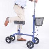 FDA-gebilligter faltender Knie-Wanderer-Roller mit Korb