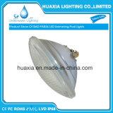 Cor de PAR56 RGB que muda a luz da associação do diodo emissor de luz da natação subaquática