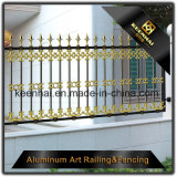 2018新しいアルミニウム金属の庭の塀は良質の価格にパネルをはめる