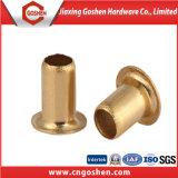 Rivets en cuivre en laiton et tubulaires creux en aluminium