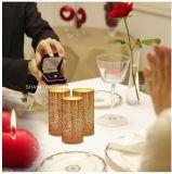Creazione della candela cambiante di colore dell'atmosfera LED