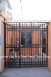Haohanの良質の外部の機密保護の装飾的な錬鉄の塀のゲート17