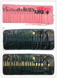 장식용 메이크업 공구 24의 PCS 고정되는 합성 직업적인 메이크업 솔