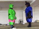 2016 Nieuwe Opblaasbare het Worstelen Sumo van het Ontwerp Kostuums