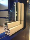 白いカラーおよび木カラー表面UPVCの開き窓Windows