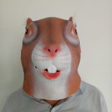 Top Quality Full Head Masque drôle en latex animal Halloween Halloween