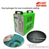 Máquina do soldador da água do oxigênio do hidrogênio do processo de conjunto da cera da carcaça de investimento