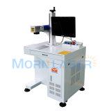 macchina della marcatura del laser della fibra 3D per metallo/plastica/modifica/catene chiave/penna