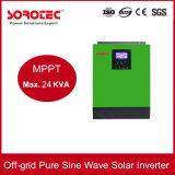 격자 순수한 사인 파동 태양 에너지 변환장치 떨어져 3kVA 잡종