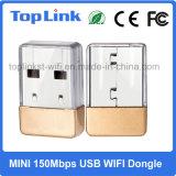Top-7A05 adaptateur minuscule de réseau WiFi du coût bas 150Mbps Mtk Mt7601 mini USB Wireles
