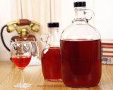 Sans plomb Fancy bouteilles de vin bouteille de whisky en verre vide Brandy