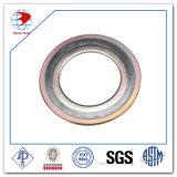 junta espiral Ss304 ASME B16.20 de la herida de 3inch 150#