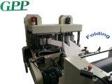 Máquina de dobramento de papel e guardanapo automático em relevo e impressão