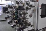 6 colores de la copa de plástico de embalaje automático con máquina de impresión