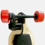 Planche à roulettes électrique personnalisée de couleur avec 4 roues