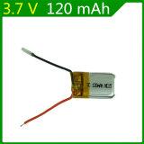 3.7V de Batterij van Lipo van de Batterij van de 120mAh 651523 Helikopter