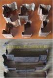 Rolo do frame de porta do metal que dá forma à máquina