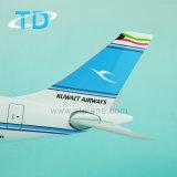 """Кувейт эруэйз"""" A330-200 1: 100 модели полимера на борту самолета"""