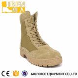 2017の新しい方法スエード牛革メンズ安全靴の軍の戦術的な砂漠ブート