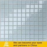 Preto e Branco 4mm Piscina Mosaico de vidro com Crystal