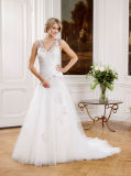 Beautiful Tulle Sweetheart Princess Wedding Gown Vestidos de noiva
