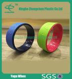 Rotella di forma fisica di yoga di buona qualità della rotella di yoga di potere di esercitazione di forma fisica