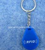 Beständige weiche Silikon Hochtemperaturidentifikation bricht RFID SchlüsselFob Karte ab