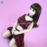 Jl 100cm Minihöhen-junges Mädchen-Silikon-Geschlechts-Puppe für Männer