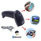 Draadloze Bluetooth 4.0 de Handbediende Scanner van de Streepjescode, de Lezer van de Streepjescode van de Laser, steunt Androïde Mobiel, iPhone, iPad, PC van het Venster, Mj2810