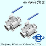 3PC Quick Connect Stainless Steel 304 Ball Valve Dn50