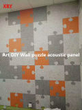 セリウム100%ペットポリエステル線維の壁の音響パネルの(防音の)壁パネルの天井板の装飾のパネル