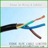 Zacht pvc van de Leider van het Koper isoleerde Flexibele Kabel, Elektrische Kabel