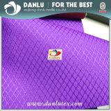 DTY 150d Jacquard Diamond Pattern Oxford Tecido para saco